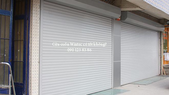 Cửa cuốn Wintec có tốt không?