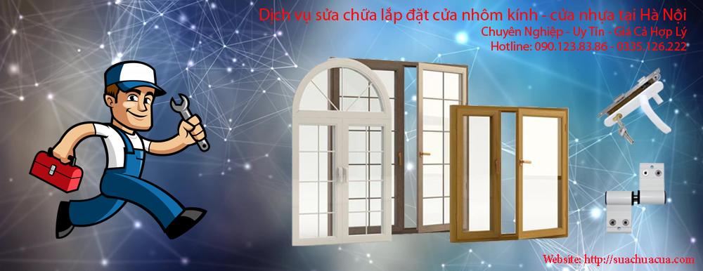 Sửa chữa cửa nhôm kính