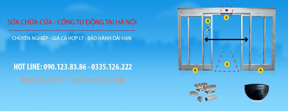Sửa cửa tự động tại Hà Nội